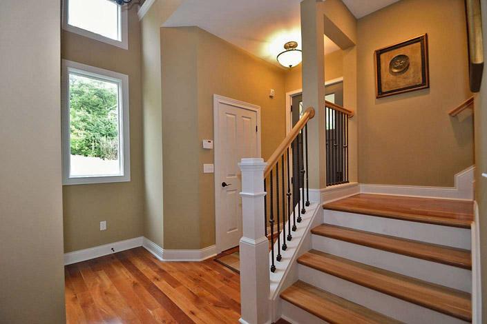 Cincinnati Townhomes Open Floor Plan First Floor Master Bedrooms Woodland Vistas Luxury