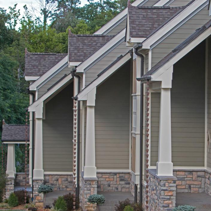Cincinnati Townhomes | Arts & Crafts Architecture