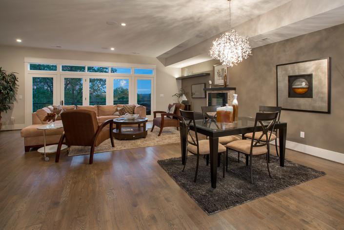 Contemporary Model Living Room
